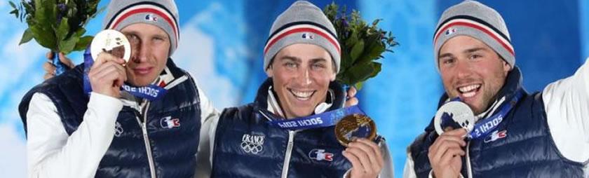 フリースタイルスキーフランス代表が2014年冬季オリンピックで金・銀・銅 5個のメダルを獲得!